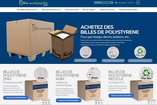 recharge billes de polystyrène pouf